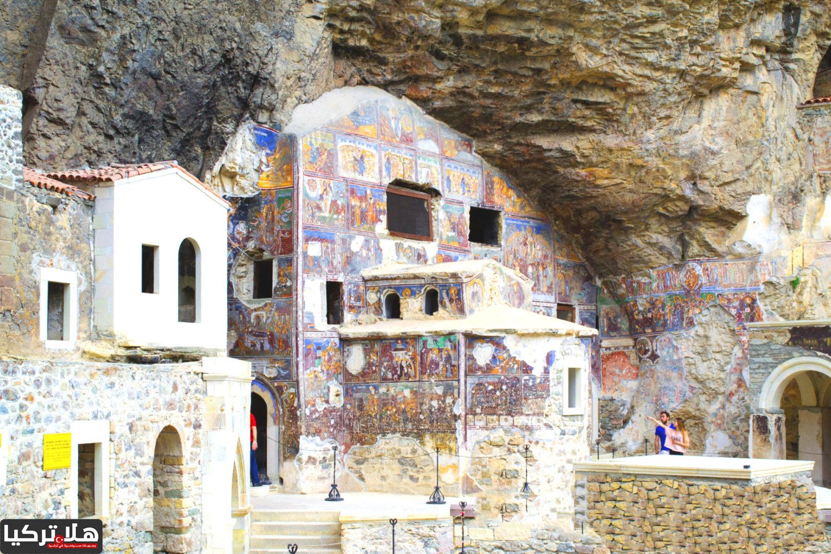من داخل دير سوميلا الأثري