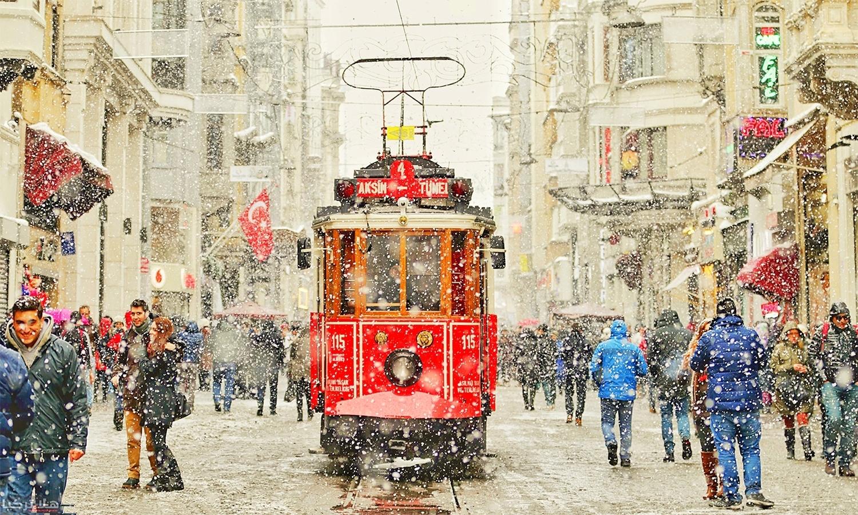 تركيا في فصل الشتاء