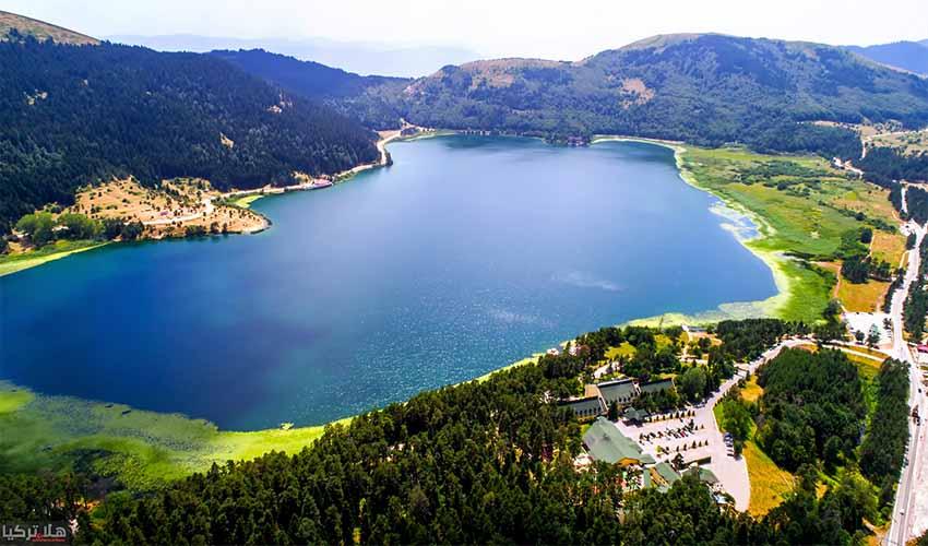 جولة بحيرة ابانت