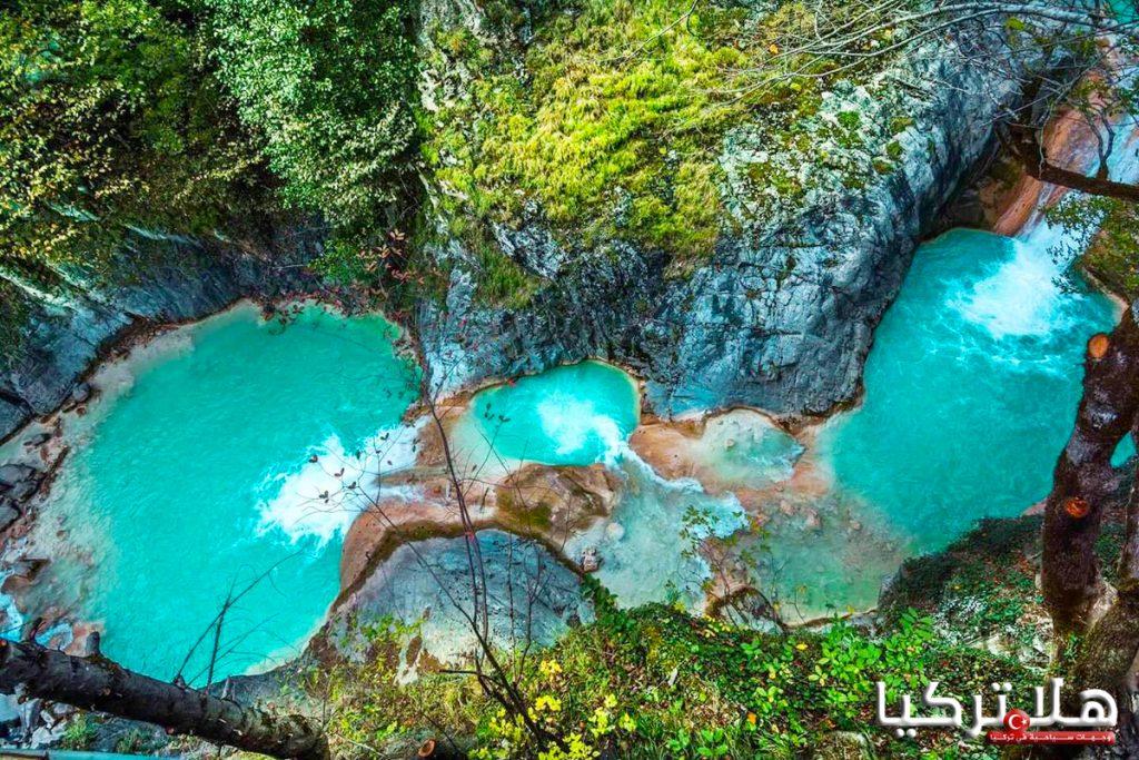 جولة البحيرة الزرقاء mavi göl